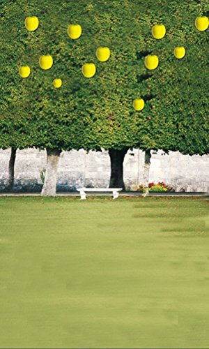 amonamour-grunen-gras-park-obstbaume-vinyl-stoff-wandwanddekoration-studio-requisiten-fotohintergrun