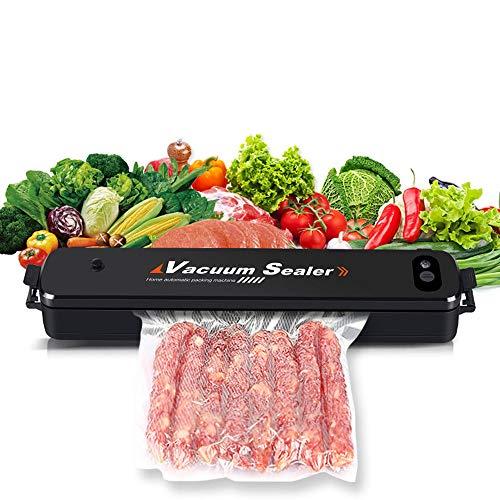 HPDOK Lebensmittel Vakuumiermaschine/Vakuumiermaschine/Automatische Vakuumiermaschine, Mit 15 Vakuumbeuteln, 27 cm SchweißEn, Geeignet FüR Die Lagerung Und Konservierung Von Lebensmitteln.