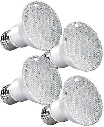 Lunartec Pflanzen LED: LED-Pflanzenlampe für E27 Fassungen, mit 168 LEDs, 105 Lumen, 4er-Set (Pflanzenleuchten)