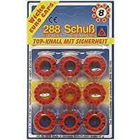 Sohni-Wicke Amorces 8 Schuss Ringe für Spielzeugpistolen, 288 Schuss