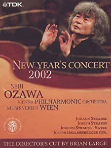 Ozawa and the Vienna Philharmonic: New Year's Concert 2002 [(director's cut)] [Import USA Zone 1]