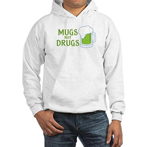 CafePress Mugs Not Drugs - Pullover Hoodie, Hooded Sweatshirt