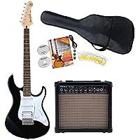 Yamaha Pacifica 012 BL E-Gitarre Starter Set (inkl. Verstärker, Gigbag und Zubehörset) Black Gloss