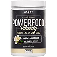 |Hemp FORCE Vanill-Açaí High Protein Superfood Vegan Supplement w/ Açaí Berry & Chia by Onnit || Joe Rogan...