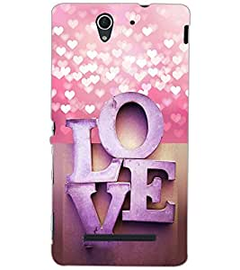 SONY XPERIA C3 LOVE Back Cover by PRINTSWAG