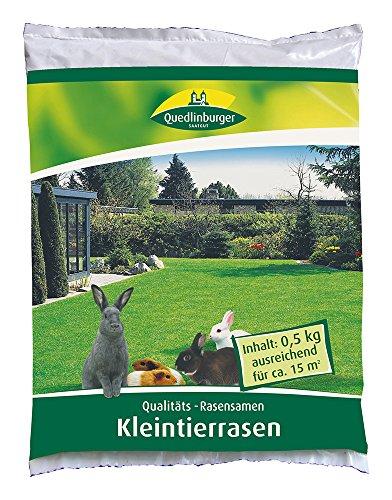 Rasensamen - Kleintierrasen 500 g von Quedlinburger Saatgut