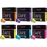 VIAGGIO ESPRESSO - 60 Cápsulas de Café Compatibles con Máquinas Nespresso - SURTIDO
