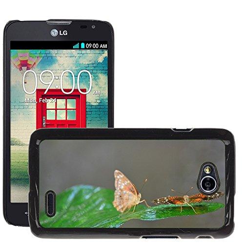 Grand Phone Cases Bild Hart Handy Schwarz Schutz Case Cover Schale Etui // M00142414 // LG Optimus L70 MS323