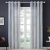 Suchergebnis auf Amazon.de für: gardine schwarz weiß - Transparente ...