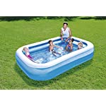 Bestway Clear Fast Set Pool Above Ground 2.69m x 1.75m x 51cm