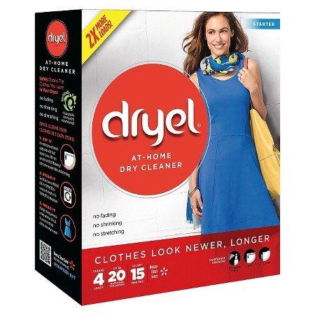 Kit de démarrage à sec Dryel At-Home avec sac, Breeze Clean Scent 1 kit - Starter Kit Sistema