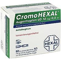 CromoHexal Augentropfen UD, 50 St. Einzeldosen preisvergleich bei billige-tabletten.eu