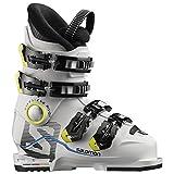 Salomon Kinder Ski-Stiefel X Max 60T L Skistiefel, Weiss/Weiss, 21