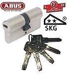 ABUS EC550 Profil-Doppelzylinder Länge 30/60mm mit 5 Schlüssel (Zyl.-Gesamtlänge 90mm)