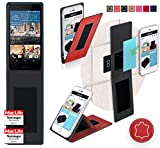 Cover for HTC Desire 728G Case | in Red Leather |