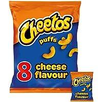 Cheetos Sbuffi Di Formaggio 8 Snack Pack 8 X 13g