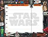 Star Wars Classic Desk Pad Official Calendar - Non dated weekly planner Format