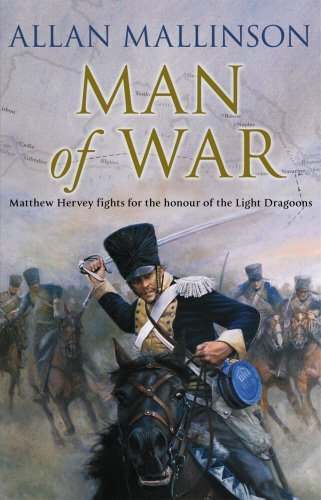 Portada del libro Man Of War: (Matthew Hervey Book 9) by Allan Mallinson (2008-03-10)
