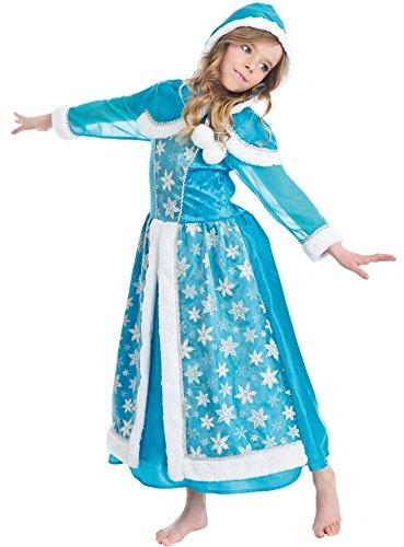 Eis Kostüm Fee - Kostüm Königin der Eis Mädchen 3-4Jahre