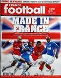 FRANCE FOOTBALL [No 3233] du 25/03/2008 - MADE IN FRANCE - GAEL CLICHY - CLAUDE MAKELELE - PATRICE EVRA - LASSANA DIARRA - COUPE DE FRANCE - CARQUEFOU REVE DEJA D'UN NOUVEL EXPLOIT