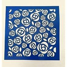 Stencil plantilla de acetato para pintar de 15 cm x 15 cm aprox.