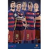 Grupo Erik Editores GPE4955 - Póster FC Barcelona Varios Jugadores -1- 2015/2016, 61 x 91,5 cm