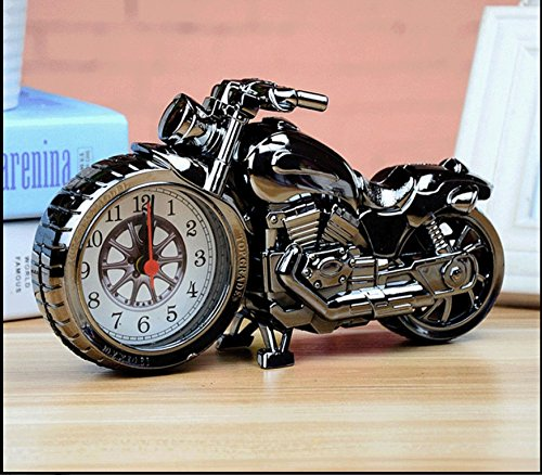 CHENHUA Motorrad Wecker kreative Pers?nlichkeit Kinder Jungen Student Bett europ?ischen niedlichen einfachen Multifunktions-Wecker