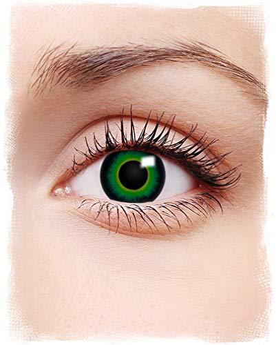 Horror-Shop Kontaktlinsen Grün -