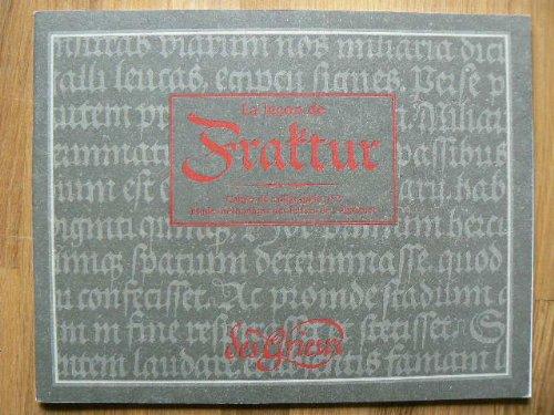 La leçon de fraktur : étude méthodique des lettres de l'alphabet (Cahier de calligraphie.) par Scripsit