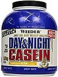 Weider Day & Night Casein Protein, Vanille-Sahne, 1er Pack (1x 1,8kg), Dose