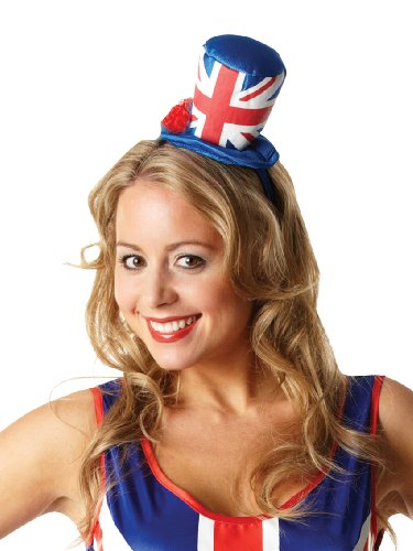 Rule Britannia Union Jack Hat Damen-Top Mini