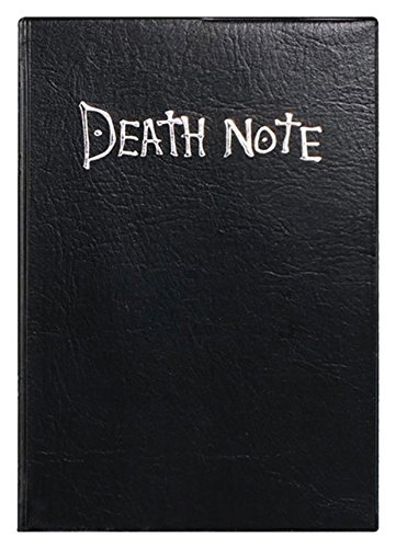 Death note 990210 anime replica scrap book, nero