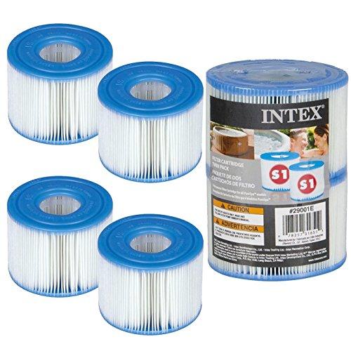4Intex Kartuschen für Whirlpool-Filter-Intex Typ S1