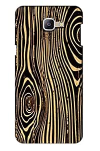 AMAN Zibra Line Pattern 3D Back Cover for Samsung Galaxy A9 Pro