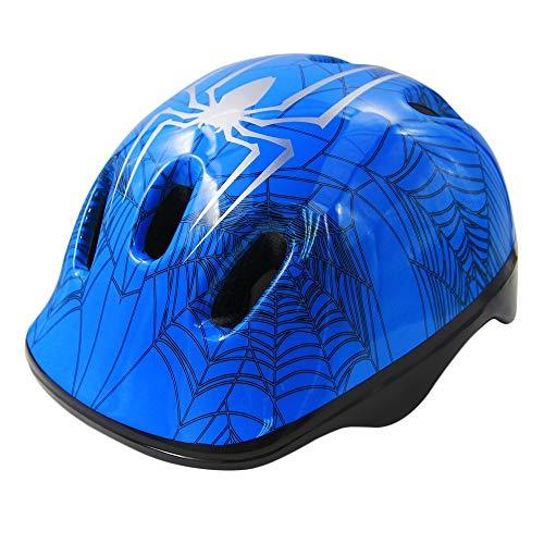 Eulan Toddler Bike Helmet, Multi-Sport Lightweight Safety Helmets for Cycling/Skateboard/Scooter/Skate Inline Skating/Rollerblading Protective Gear Suitable Boys/Girls (1-6 Year Old). (Blue)