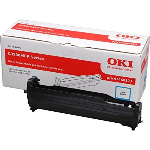 Preisvergleich Produktbild OKI 43460223 C3520MFP, C3530MFP, MC350, MC360 Trommel cyan 15.000 Seiten