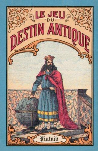 Feine Aufschlagkarten / Jeu Destin Antiques: 32 Orakelspielkarten
