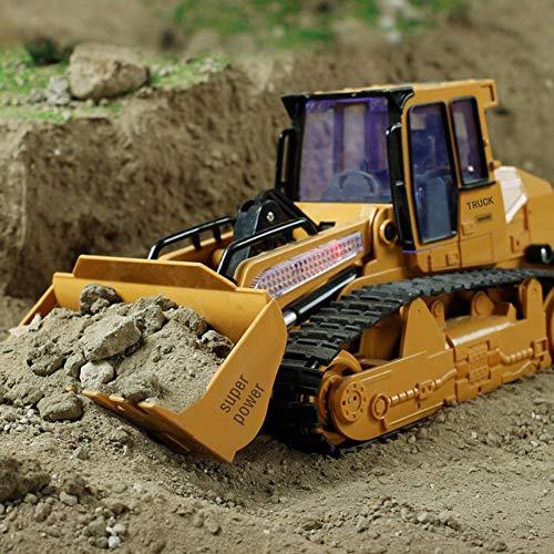 RC Auto kaufen Baufahrzeug Bild 3: 332PageAnn Rc Bagger Spielzeug Radlader Baufahrzeuge, 1:12 Simulationsfahrzeug Mit Sound Und Licht Geburtstagsgeschenk Für Kinder*
