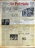 Telecharger Livres PATRIOTE LE N 1058 du 06 03 1948 DEMAIN DIMANCHE 7 MARS JOURNEE INTERNATIONALE DES FEMMES CONTRE LA VIE CHERE POUR DEFENDRE LE PAIN ET L AVENIR DES ENFANTS POUR ASSURER LA PAIX LA POLITIQUE AMERICAINE A PROVOQUE LES EVENEMENTS DE PRAGUE DECLARE UN DEPUTE ANGLAIS DEUX TRAITRES EN JUSTICE PUREE DE POIS FEMMES SAUVEZ LA VIE DE VOS ENFANTS LE DEBAT SUR LE PRELEVEMENT S EST ENGAGE A L ASSEMBLEE GRACE A LA QUESTION DE CONFIANCE LE GOUVERNEMENT EN FRANCHIRA T IL LE CAP LE RELEVEME (PDF,EPUB,MOBI) gratuits en Francaise