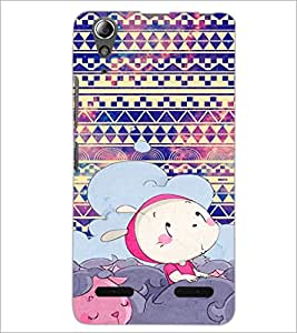 PrintDhaba Cartoon D-4332 Back Case Cover for LENOVO A6000 PLUS (Multi-Coloured)