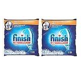 #3: Finish Dishwasher Salt 1 KG Pack of 2