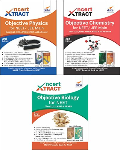 NCERT Xtract – Objective Physics, Chemistry, Biology for NEET, Class 11/ 12, AIIMS, JIPMER