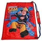"""Kinder-Badetasche mit Motiv: Feuerwehrmann Sam """"The Hero next door""""."""