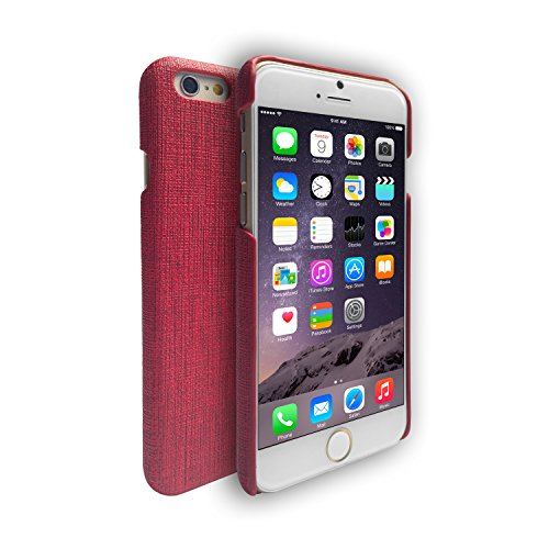 Patriot slim Housse Shell pour Apple iPhone 6 rouge