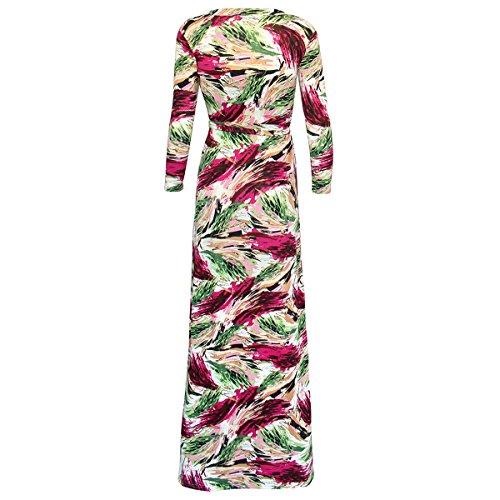 YL - Robe - Sans bretelle - Femme Pink Grun