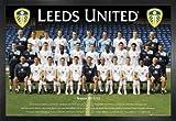Fußball Poster und MDF-Rahmen - Leeds United FC,