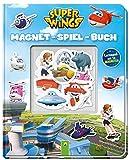 Super Wings Magnet-Spiel-Buch: Lernspaß mit 16 Magneten