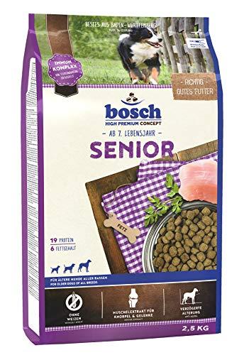 bosch HPC Senior | Hundetrockenfutter für ältere Hunde aller Rassen, 1 x 2.5 kg