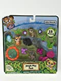 Jungle In My Pocket Jungle Play Pack 15 Pieces - B