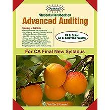 Padhuka's Students' Handbook On Advanced Auditing: CA final New Syllabus- for May 2019 Exams and onwards